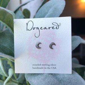 Dogeared Crescent Moon Earrings
